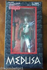FEMME FATALES STATUE. MEDUSA. 9 INCHES. NEW IN BOX.