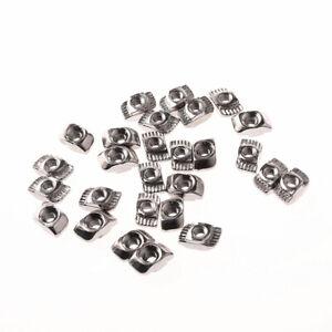 Drop In T-Nut Tee nut Aluminum Extrusion Profile CNC 3D Printer M3 M4 M5 M6 M8