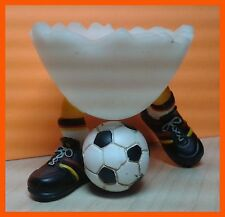 "Casablanca Egg Cup Football Ball Soccer 2"" Speedy & Friends Acrylic Hand Painted"