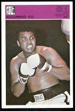 MUHAMMAD ALI Boxing Champion 1980 Yugoslavia Svijet Sporta CARD