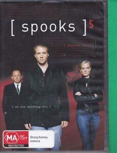 Spooks : Series 5 : Brand New (AI, DVD, 2008, 5-Disc Set, Region 4) Season 5