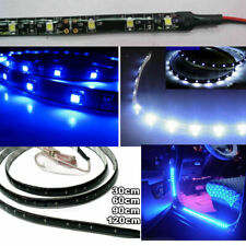 30/60/90/120cm 1210 3528 SMD Flexible LED Strip Light DIY Car Bike Decorate Lamp