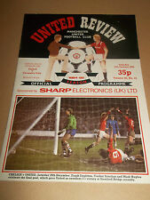 MANCHESTER UNITED V COVENTRY CITY 1984 DIVISION ONE FOOTBALL PROGRAMME
