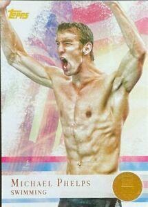 2012 Topps Olympics YOU PICK Base, Bronze, Silver, Gold Olympics - Phelps,Morgan