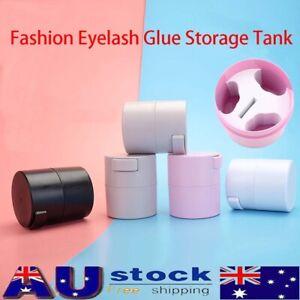 1pcs Eyelash Glue Storage Tank Matte Fashion Activated Carbon Sealed Storage Jar