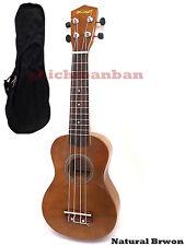 "<Holiday Sale>Woodnote/ Natural Brown 21"" Wooden Soprano Ukulele+Free Black Bag"