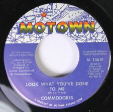 Soul 45 Commodores - Look What Youve Done To Me / This Is Your Life On Motown