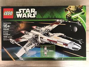 LEGO 10240 Star Wars Red Five X-wing Starfighter NIB Sealed Retired