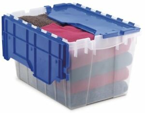 """Akro-mils Keep Box Container With Lid - 12 Gal - 12.5"""" Height X 15"""" Width21.5"""""""