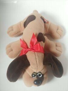 1985 Vintage Tonka Pound Puppies Biege Tan Brown Spots Spotted Plush Pup Tonka