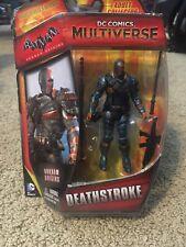 "Deathstroke - DC Comics Multiverse - 3.75"" Figure - Batman Arkham Origins - New"