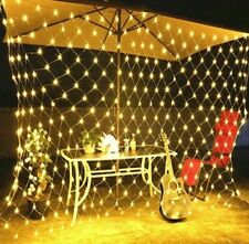 3X2M LED Net lights 200 LED Fairy String Decorative Mesh Wedding Xmas Decor US