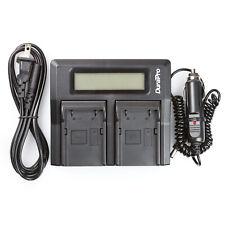 LCD Dual Rapid Battery Charger for Trimble 5800 54344 Survey GPS Pentax EI-D-LI1