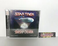 Star Trek Starship Creator PC Video Game Windows 95/98 Simon & Schuster 1998