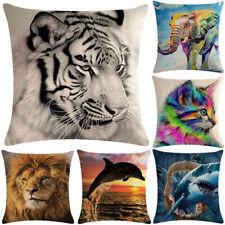 HOT Animal World Classic Pillowcase Cushion Case Home Decoration Cushion Cover