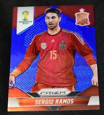 2014 Panini Prizm WC Cup #172 Sergio Ramos Blue Prizm /199 Spain
