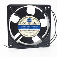 1PC BEST BT12038B2H 220V 0.12A 20W ultrasonic welding machine cooling fan