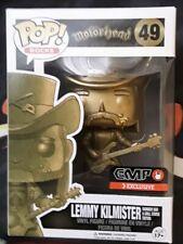 Lemmy Kilmister Funko Pop Vinyl Figure Golden Statue Exclusive Motorhead