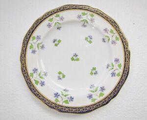 "Antique (1905) COPELAND CHINA 7""(18cm) SIDE / CAKE PLATE Stylized Flowers"