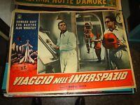Viaje en el Espacio Ultraterrestre Fotobusta Original 1959 Duff Bartok Tipo D