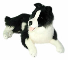"Border Collie Extra Large Soft plush toy 25""/62cm OSCAR by Bocchetta - NEW"