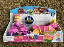 Piggy's Trike & Carriage Muppet Babies 2-in-1 Target Exclusive Action Play Set