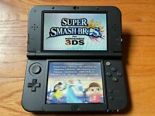 Nintendo 3DS XL with 8 Games and Case