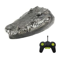Toys Rc Boat Remote Control for Pools Simulation Crocodile Head Spoof Toy Gifts