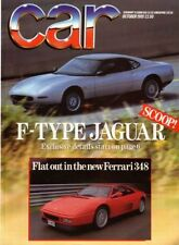 October Cars, 1980s Transportation Monthly Magazines