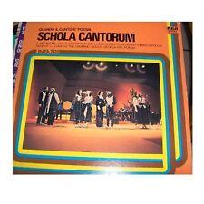 SCHOLA CANTORUM - QUANDO IL CANTO E' POESIA  - LP 33 rpm