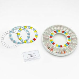 Pivotell Advance Pill Dispenser Spare Tray Kit & Filling Aid Funnel