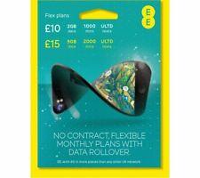 EE 4G Plus £10 Pre-loaded Credit International Standard/Micro/Nano Tripple  PAYG
