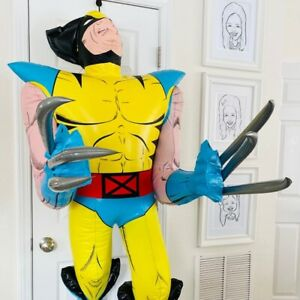 X-Men WOLVERINE GIANT 5 FT INFLATABLE BLOW UP MARVEL X-MEN - RARE