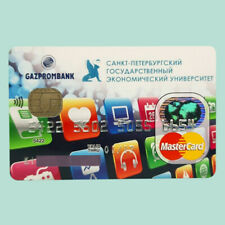 Gazprom bank MasterCard charge card for collectible