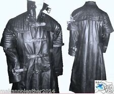 Men's Stylish Van Helsing Gothic/Steam Punk Trench Coat in Genuine Cow Leather