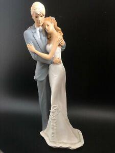Home Decor Bride and Groom Sculpture Statue Ceramic