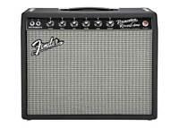 Fender '65 Princeton Reverb 120v Tube Guitar Amplifier - Black Used