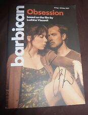 JUDE LAW SIGNED OBSESSION THEATRE PROGRAMME APRIL 2017 & PHOTO PROOF KING ARTHUR