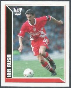 TOPPS 2011 PREMIER LEAGUE 2011- #234-LIVERPOOL-IAN RUSH IN ACTION