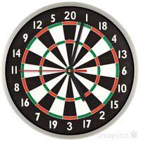#202 Wanduhr » Dartscheibe «  optional mit lautlosem Uhrwerk Darts Partyraum