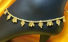 Ankle Bracelet Indian Payal Pajeb Anklet New Feminine Jewelry Gold Plated Pearl