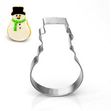 New Christmas Stainless Steel Biscuit Pastry Cookie Cutter Cake Decor Mold Set