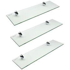 Librerías y estanterías color principal blanco de vidrio para el hogar