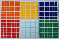 Magic Cube Stickers Shengshou 7X7 75 a 82mm Colorfull