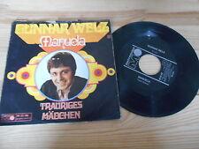 """7"""" Schlager Gunnar Welz - Manuela / Trauriges Mädchen METRONOME"""