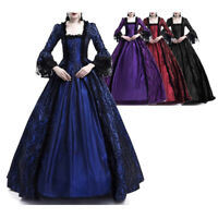 LACE Dress 18th Century Medieval Gothic Renaissance Masquerade Costume Ball Gown