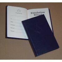 Masonic Emulation Ritual 13th Edition (Pocket) with a Bookcover