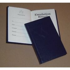 More details for masonic emulation ritual 13th edition (pocket) with a bookcover