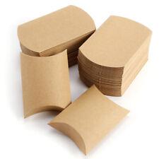100x Kissenbox Geschenkschachtel Schachteln Kissenbox Geschenkbox Schachtel