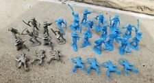 Vintage Marx Frontier Figures from Playset